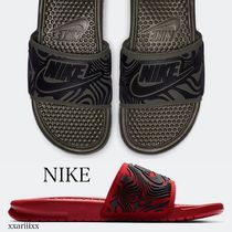 Nike Street Style Shower Shoes Shower Sandals