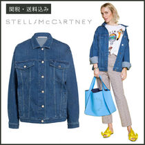 Stella McCartney Star Casual Style Denim Medium Oversized Jackets