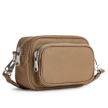 Casual Style Unisex 2WAY Plain Shoulder Bags