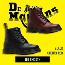 Dr Martens Unisex Street Style Plain Leather Boots Boots