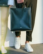 Unisex 2WAY Leather Totes
