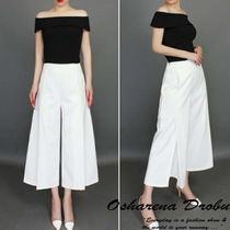 Plain Home Party Ideas Office Style Culottes & Gaucho Pants