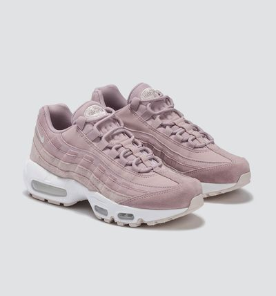 Nike AIR MAX 95 2019 SS Round Toe Rubber Sole Lace up Casual Style Street Style