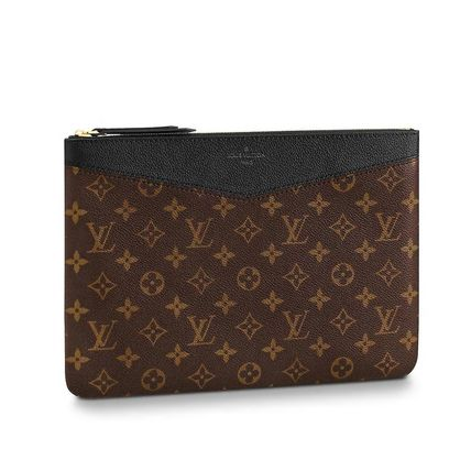 Louis Vuitton Clutches Monogram Canvas Blended Fabrics Bag in Bag Bi-color 3
