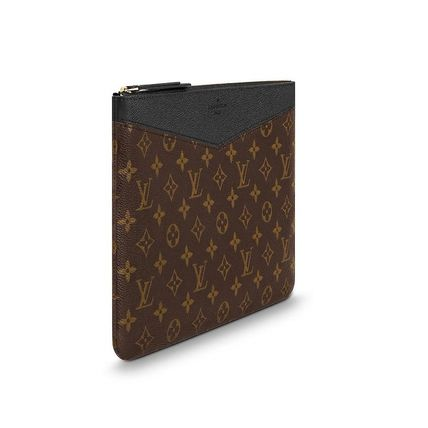 Louis Vuitton Clutches Monogram Canvas Blended Fabrics Bag in Bag Bi-color 4
