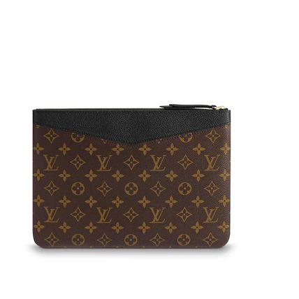 Louis Vuitton Clutches Monogram Canvas Blended Fabrics Bag in Bag Bi-color 6