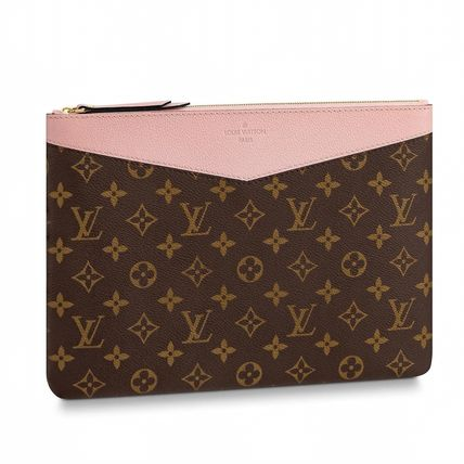 Louis Vuitton Clutches Monogram Canvas Blended Fabrics Bag in Bag Bi-color 7
