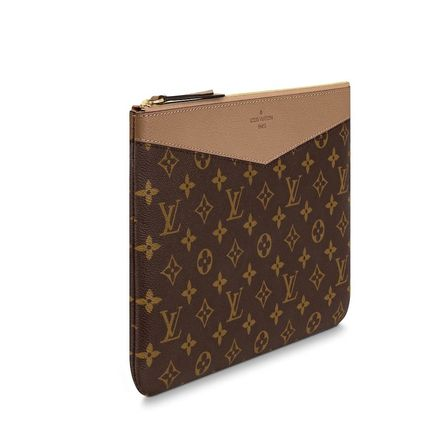 Louis Vuitton Clutches Monogram Canvas Blended Fabrics Bag in Bag Bi-color 13