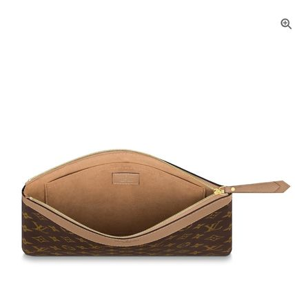 Louis Vuitton Clutches Monogram Canvas Blended Fabrics Bag in Bag Bi-color 14