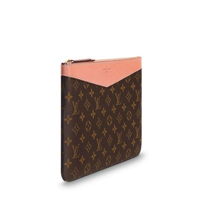 Louis Vuitton Clutches Monogram Canvas Blended Fabrics Bag in Bag Bi-color 16