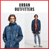 Urban Outfitters Unisex Street Style Plain Long Oversized Parkas