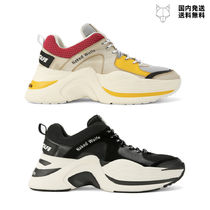 Naked Wolfe Unisex Plain Leather Handmade Sneakers