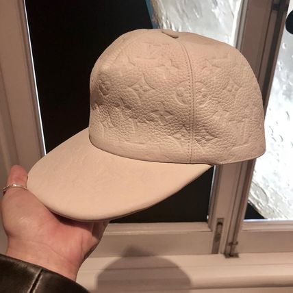 Louis Vuitton Beret & Hunting Unisex Blended Fabrics Street Style Beret & Hunting Hats