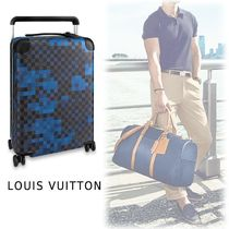Louis Vuitton HORIZON 55 black one size Luggage&Travel Bags
