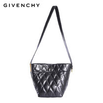 GIVENCHY Lambskin Plain Straw Bags