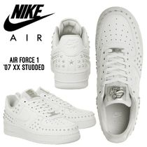 Nike AIR FORCE 1 Star Casual Style Unisex Street Style Plain Leather