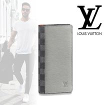 Louis Vuitton EPI Street Style Leather Long Wallets