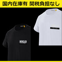 MONCLER Crew Neck Street Style Collaboration Cotton Short Sleeves
