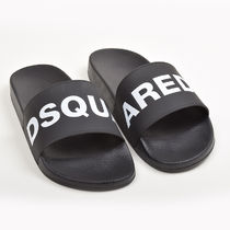 D SQUARED2 Street Style Shower Shoes PVC Clothing Shower Sandals