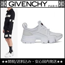 GIVENCHY Blended Fabrics Plain Leather Sneakers