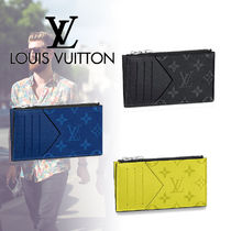 Louis Vuitton TAIGA Monogram Leather Card Holders