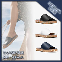 Michael Kors Casual Style Street Style Plain Leather Sandals