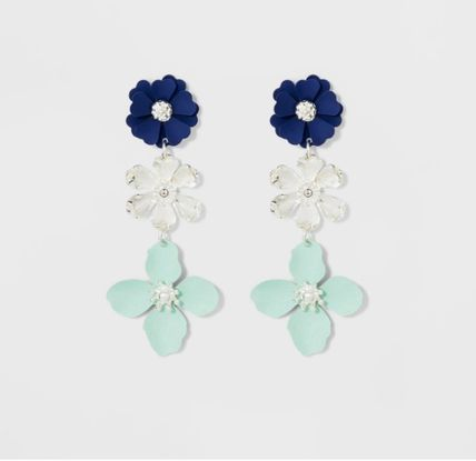 Flower Elegant Style Earrings & Piercings
