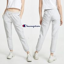 CHAMPION Casual Style Sweat Street Style Plain Long Sweatpants