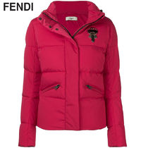 FENDI KARLITO Short Casual Style Plain Jackets