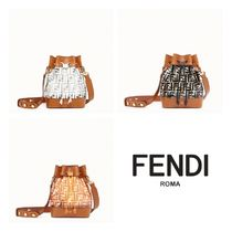 FENDI Street Style Plain Crystal Clear Bags PVC Clothing