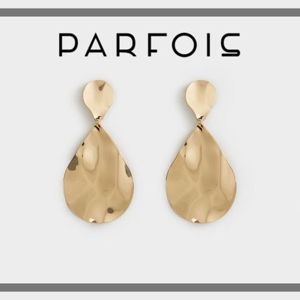 PARFOIS Earrings & Piercings Costume Jewelry Casual Style Earrings & Piercings