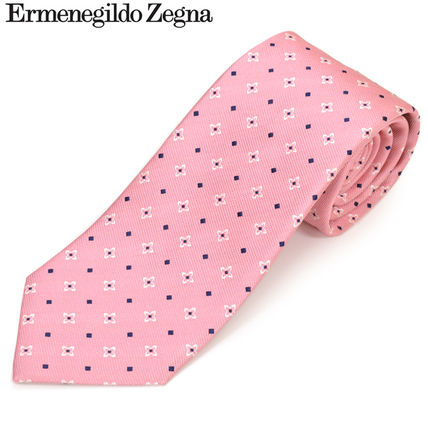 265abe68 Ermenegildo Zegna 2019 SS Flower Patterns Silk Ties (Z5D08-D)