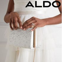 ALDO Blended Fabrics Chain Plain Party Style With Jewels
