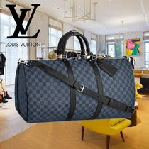 Louis Vuitton DAMIER COBALT Soft Type Carry-on Luggage & Travel Bags