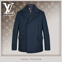 Louis Vuitton Wool Peacoats Coats