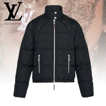 Louis Vuitton MONOGRAM Monogram Blended Fabrics Down Jackets