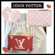 Louis Vuitton MONOGRAM Monogram Canvas Bag in Bag 2WAY Bi-color Chain Elegant Style