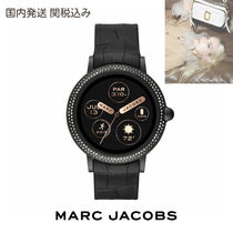 MARC JACOBS Casual Style Unisex Silicon Round Digital Watches