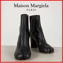 Maison Martin Margiela Leather High Heel Boots