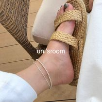 Silver Elegant Style Co-ord Anklets