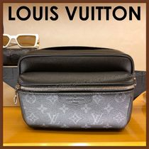 Louis Vuitton TAIGA Monogram Unisex Messenger & Shoulder Bags
