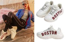 MLB Korea Street Style Plain Home Party Ideas Low-Top Sneakers