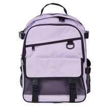 SPAO Unisex Street Style Collaboration A4 Logo Backpacks