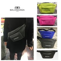 BALENCIAGA EVERYDAY TOTE Unisex Calfskin Hip Packs