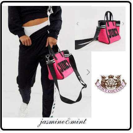 Casual Style Street Style 2WAY Totes