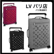 Louis Vuitton MONOGRAM Unisex Handmade 1-3 Days Soft Type Luggage & Travel Bags