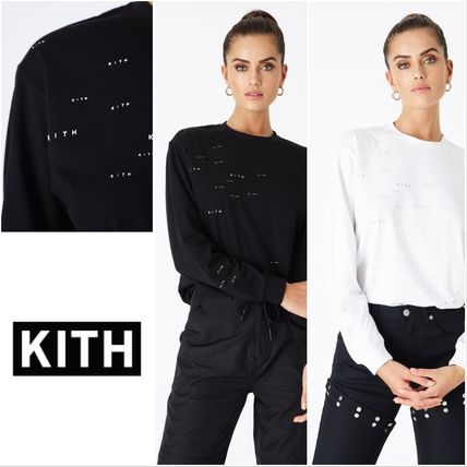 KITH NYC 2019 SS Street Style Long Sleeves Cotton T-Shirts