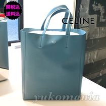 CELINE Cabas Leather Handbags
