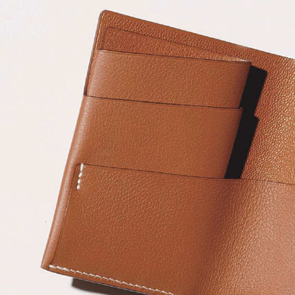 HERMES Folding Wallets Leather Folding Wallets 3