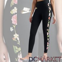 Nike Flower Patterns Casual Style Street Style Bottoms